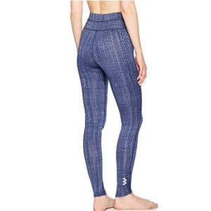 Maaji Blue Prints of Sea Yoga Leggings